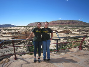 Jaime stayed most of the time with her cousin Megan.  They lived it up from what I hear!