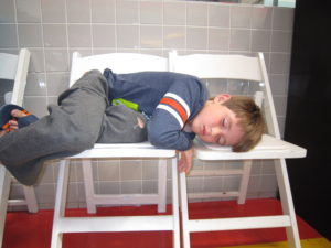 This was one of our first field trips and Patrick was still recovering from lack of sleep and long car rides.  Poor thing.  But he slept all the way home and until the next morning.  He felt great after that!!
