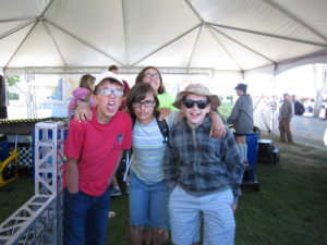 We met up with the Bennetts.  That made the fair twice as good!