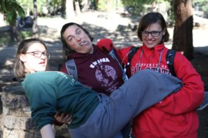 I have so much fun with these two at camp.  This was Jaime's last year ***sigh***